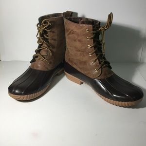 Marley Lilly Size 10 Duck Boots WOMENS